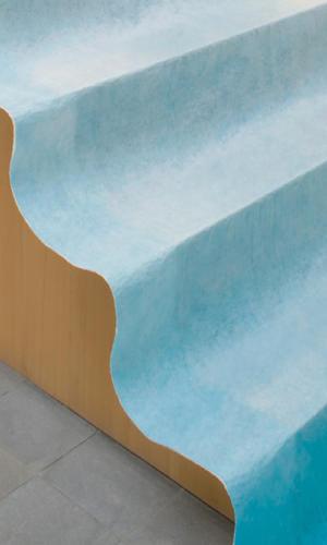 Polyprotec Mise en oeuvre escalier