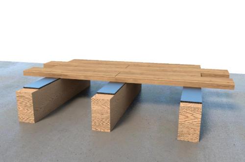 TRAMIBAND - Pose sur lambourde parquet