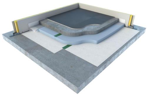 TRAMICHAPE - Isolation sous chape avec isolant thermique